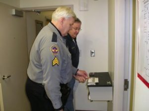 Manual fingerprinting
