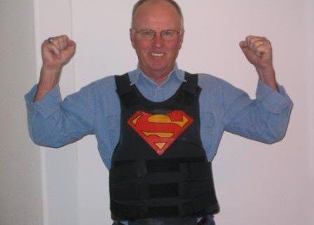 Sgt. John Howsden on Body Armor