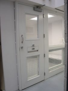 Jail holding cell
