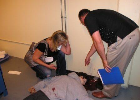Murder in the Stairwell