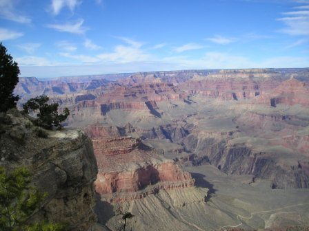 Grand Canyon, above and below.