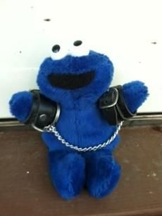 Cookie monster and serial killer