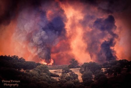 Hell erupts in California