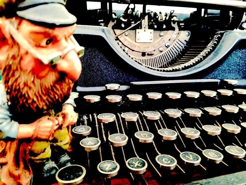 Attack of the Killer Typewriters